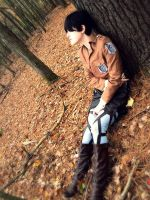 Eren from Attack on Titan Cosplay by thearsday123