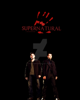 Supernatural Promo Poster by fullonswayzeed