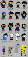 Homestuck according to dad by Letipup