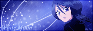 Rukia Sign - White Moon by S-Sei