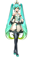 [Imitation X] Ultimate Miku [Download] by FlyingSpirits-P