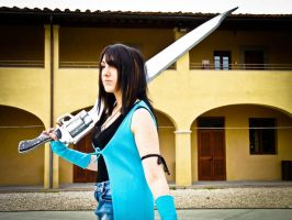 Rinoa and Gunblade by UndiciSmaug