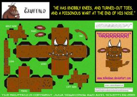 Gruffalo Cubee by mikedaws