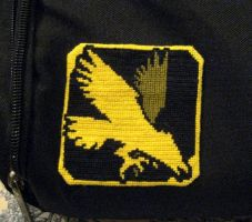 Borderlands Hunter Patch by GamingBitCrossStitch