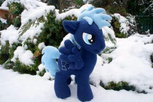 My Little Pony Star Hunter Plush by GraphicPlanetDesigns