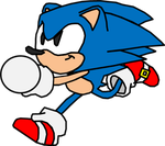 Classic Sonic by marioalejo01