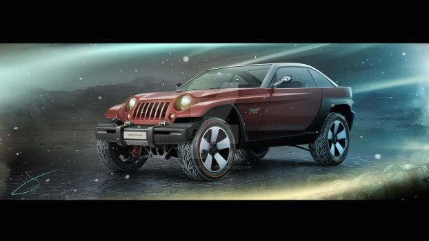 1998 Jeep Jeepster concept by Tigersfather