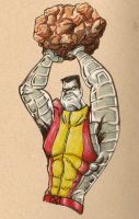 Colossus by inkycharland