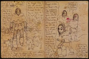 2014 OCT Concept Sketches 15 -  Ragged King by RobinRone