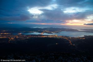 Morning at Hobart by tawunap159
