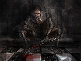 Dr. Gordon Freeman by sowayan