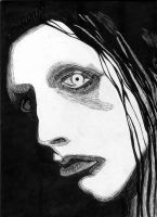 Marilyn Manson by LukavMinaev