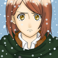 Petra Ral (colored) by Tochiotome-chan