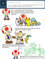 Ask Toad - Smash Bros? by pocket-arsenal