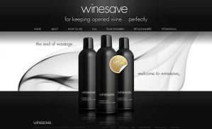 Winesave website - v3 by VictoryDesign
