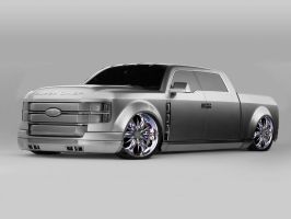 Ford F-250 Super Chief  Mod by TechII