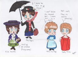 Julie Andrews' Characters Parade - part 1 by hollys14