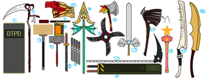 Weapon Collection by tora44