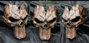 Death mask GoreWood Tribute by Uratz-Studios