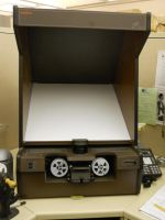 Old Microfilm Reader by Calisaroa