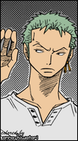Zoro coloring, Be-all and End-all by AnnaHiwatari