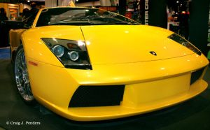 The Lamborghini by cjpenders