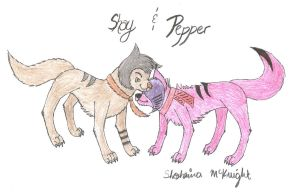 Shay and Pepper by shaina773