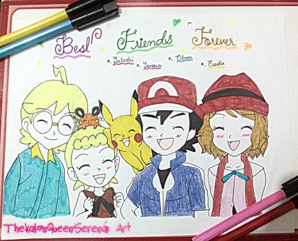 XY Group~Best Friends ForEver! by TheKalosQueenSerena