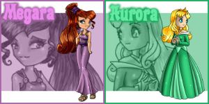 Meg and Aurora Patches by Street-Angel