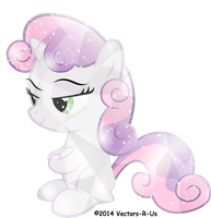 Crystal Sweetie Belle by APony4U
