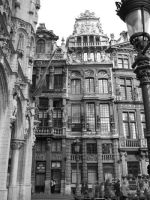 A Street in Brussels by Katie-Cuddles