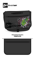 DA Messenger Bag by SazLeigh