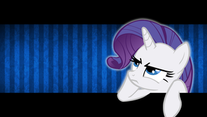 How Uncouth - Rarity Wallpaper by smokeybacon