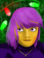 Scootahuman Christmas by BellalyseWinchester