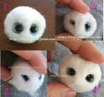 how to make eyelid by sheeps-wing