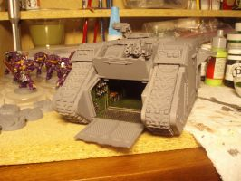 RV Land Raider Assembled WIP by Longscope