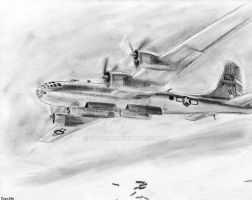 Boeing B-29 Superfortress by Taipu556