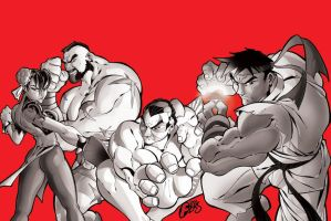 street fighter by F-E-R-S