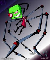 Zim's Spider Legs by hypershadow34