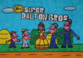 Super Mario Parody - Super Dalton Bros by Niky94