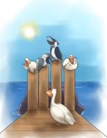 Pelican children's story pic by Gelidwolf