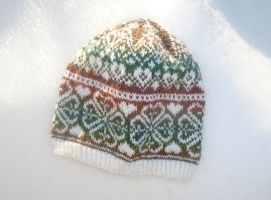 Clower fair-isle hat by KnitLizzy