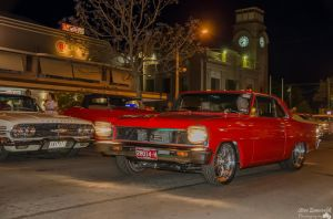 red muscle car by djzontheball