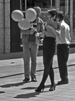 Ballons by daliscar