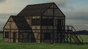 Medieval House by Thosar