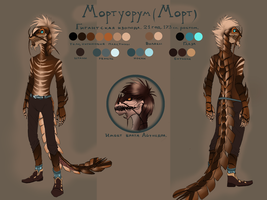 Mortuorum ref by EagleRedbeak