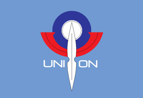 Gundam 00: flag of the Union by kyuzoaoi