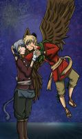 Xma AT : Janaff and Kyza by Ariall