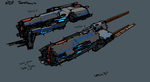 NDF Destroyers by Daemoria