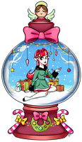 Cute Christmas by zombielily